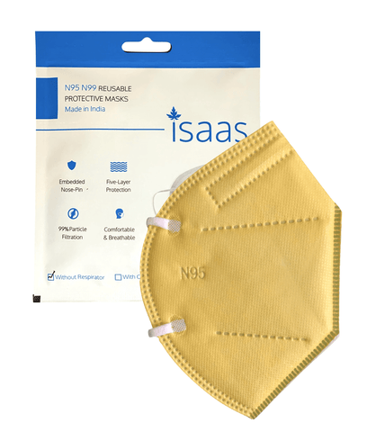 Single N95 Colored Mask - Isaas