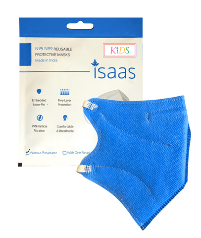 KIDS Single N95 Colored Mask - Isaas