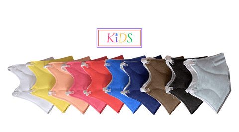 KIDS N95 Assorted Coloured Masks (Box of 10) - Isaas