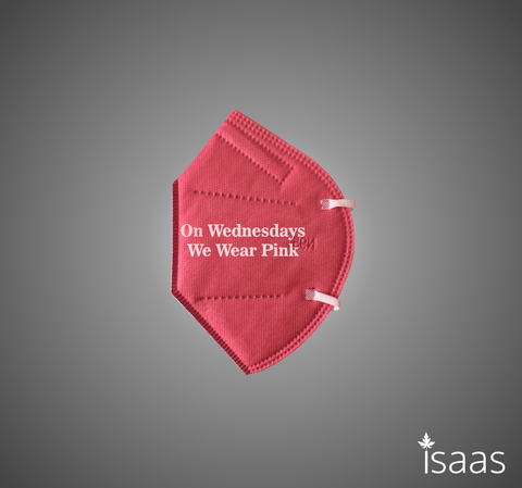 Pink Wednesdays N95 Mask LIMITED EDITION - Isaas