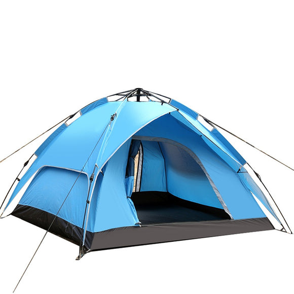 Double Deck Double Door Outdoor Picnic Camping Tent