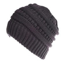 Mixed Color Knitted Wool Hat