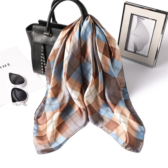 MilyFashion® Square Silk Scarf