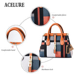 ACELURE PU Leather Tote Bag