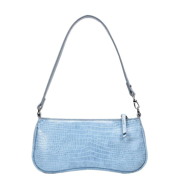 Retro Alligator Pattern Messenger Handbags