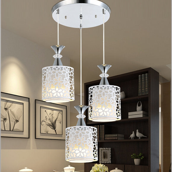 Modern LED Flower Petal Ceiling Chandelier