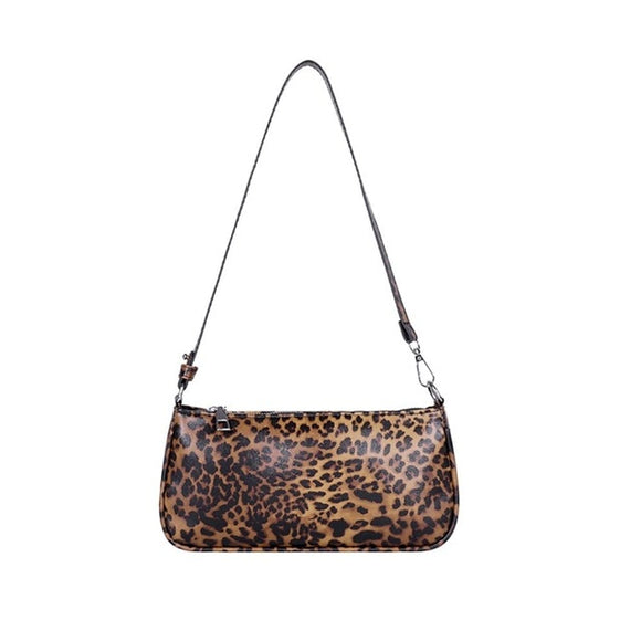 Fashion Serpentine Pattern Shoulder Bag
