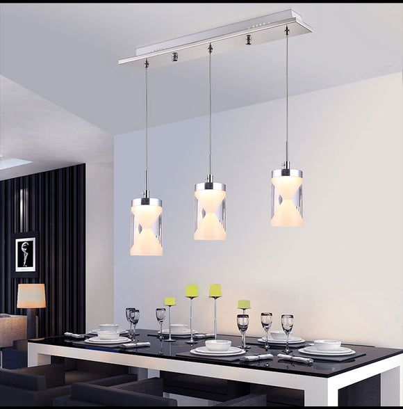 LED Funnel Chandelier