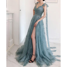 Load image into Gallery viewer, #54927 Fairy Embroidered Evening Dress