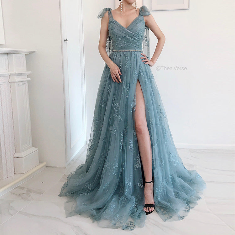 #54927 Fairy Embroidered Evening Dress