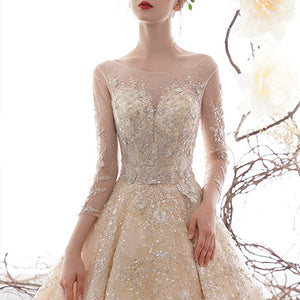 #6628 WEDDING DRESS