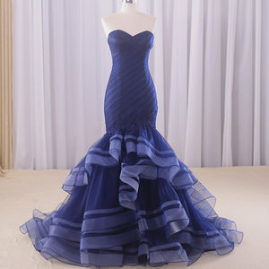 #7181 BANDEAU EVENING DRESSES