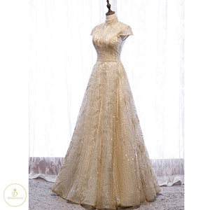 #7190 SEQUIN EVENING DRESSES