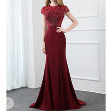 Load image into Gallery viewer, #7208 PARTY EVENIN PROM MAXI DRESS