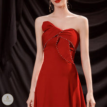 Load image into Gallery viewer, #7238 BANDEAU EVENING DRESS