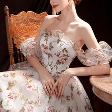 Load image into Gallery viewer, #7241 FLORAL PRINT EVENING DRESSES