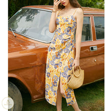 Load image into Gallery viewer, #7257 FLORAL SLING DRESS