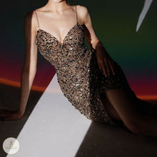 Load image into Gallery viewer, #7265 SEQUIN MAXI DRESS