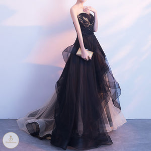 #7267 BANDEAU EVENING DRESSES