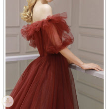 Load image into Gallery viewer, #7297 OFF SHOULDER SWING DRESS