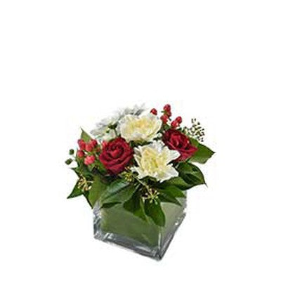 Florist Choice in Glass Vase