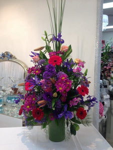 Large Mixed Blooms Display