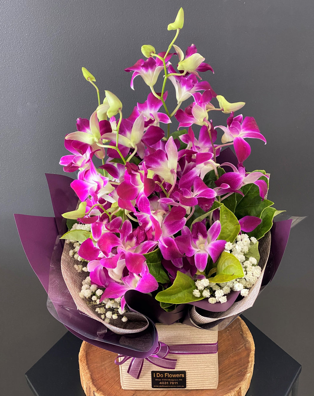 Orchid Box Display