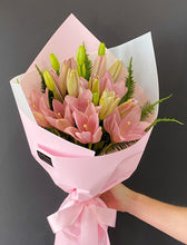 Load image into Gallery viewer, Pink Lily Bouquet