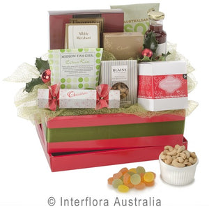 Christmas Hamper with Sweets