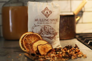 Brewing Mulled Cider