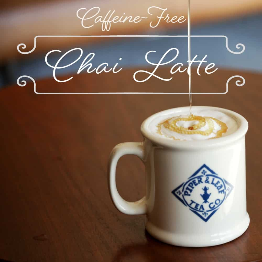 Sweetie Pie Chai Latte