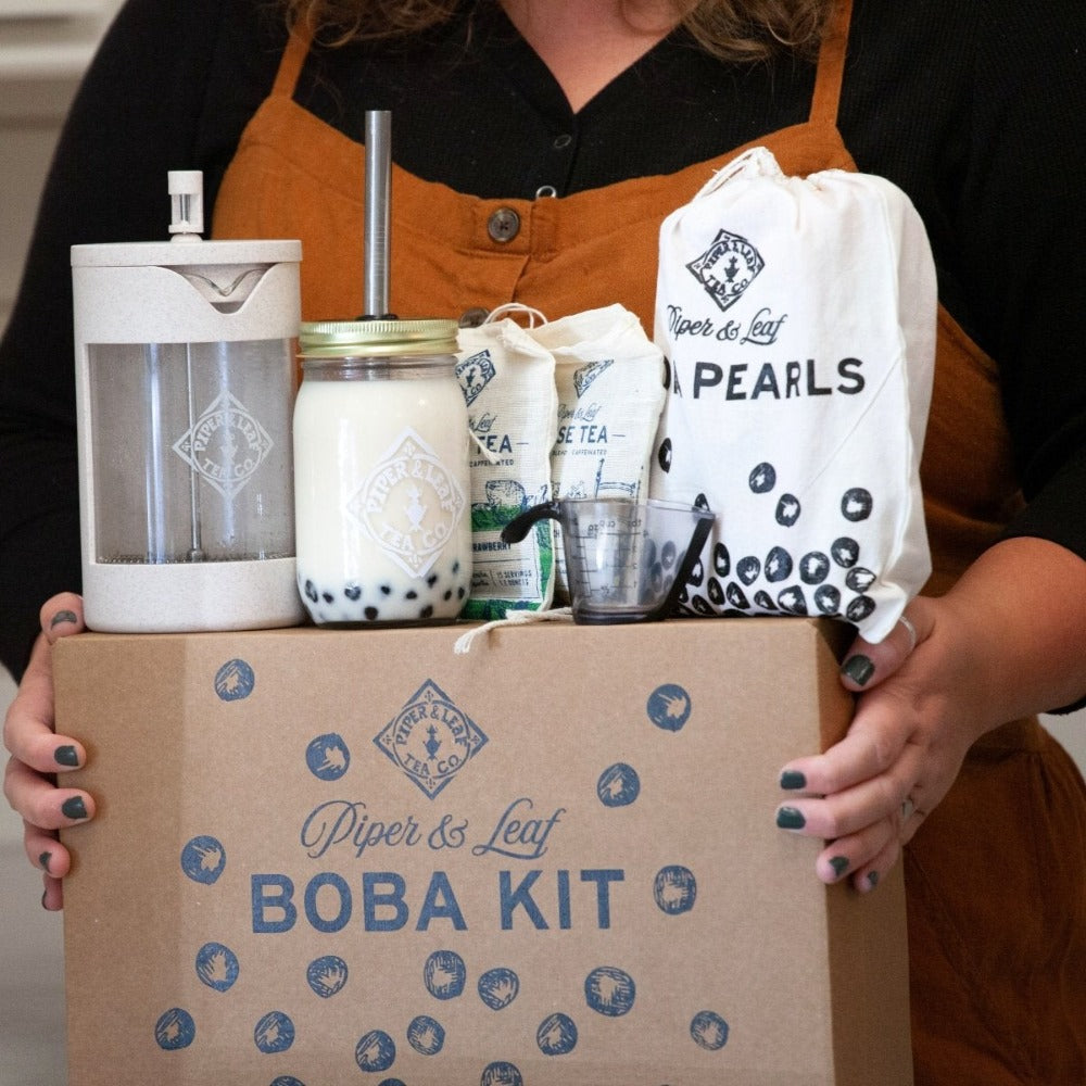 Piper & Leaf bubble tea kit