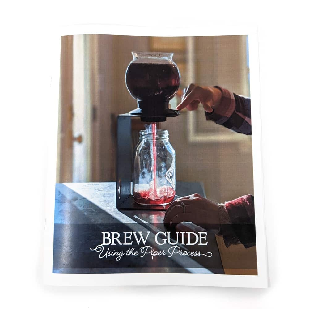 Complete brew guide to using the Piper Process. Learn to brew loose leaf into concentrated tea