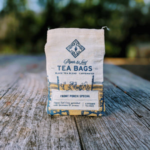 Front Porch Special muslin of Tea Bags
