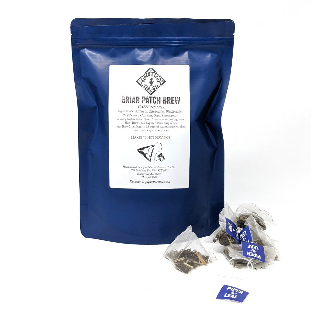 Bulk Sachet Tea Bags: Briar Patch Brew