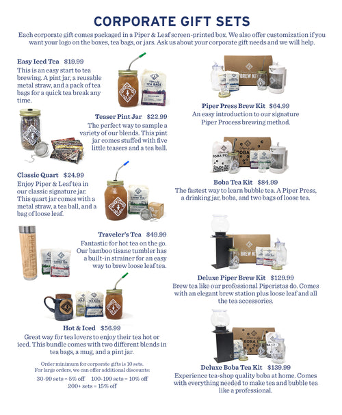 Visual guide to Corporate Gifts Brochure (document can be downloaded from button)