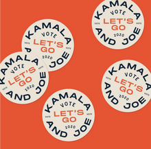 Load image into Gallery viewer, Sticker: Kamala & Joe, Let's Go!