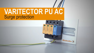 Low Voltage Surge Protection 100KA 4 Pole, VPU I 3+1 280V/25KA
