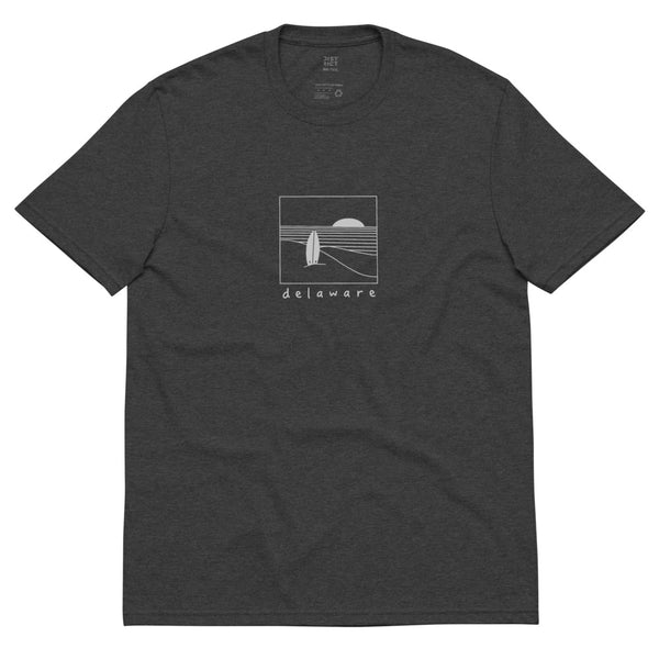 Delaware Beach Unisex T-Shirt (100% Recycled Fabric)