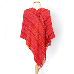 Coral Twist Shawl