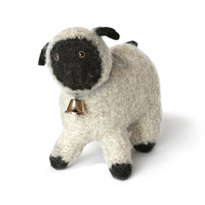 Small Felted Sheep