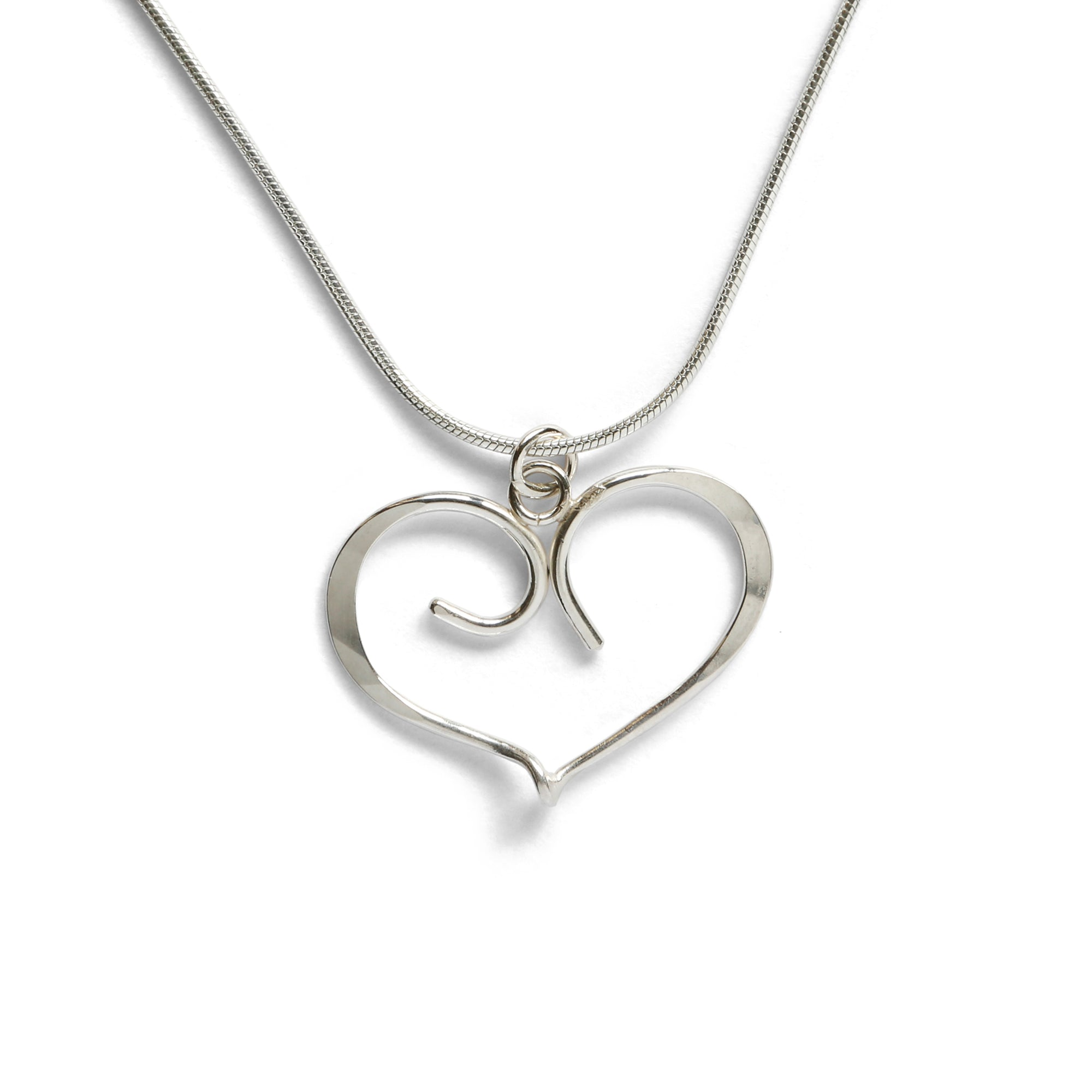 Forged Heart Necklace
