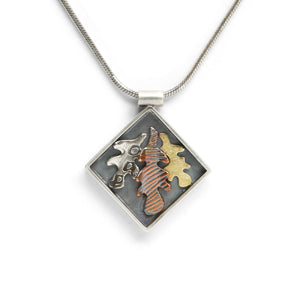 Mixed Metal Pendant
