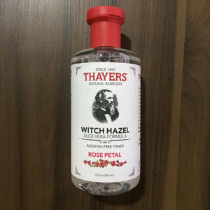 Tonico facial Witch Hazel Rose Petal, Thayers