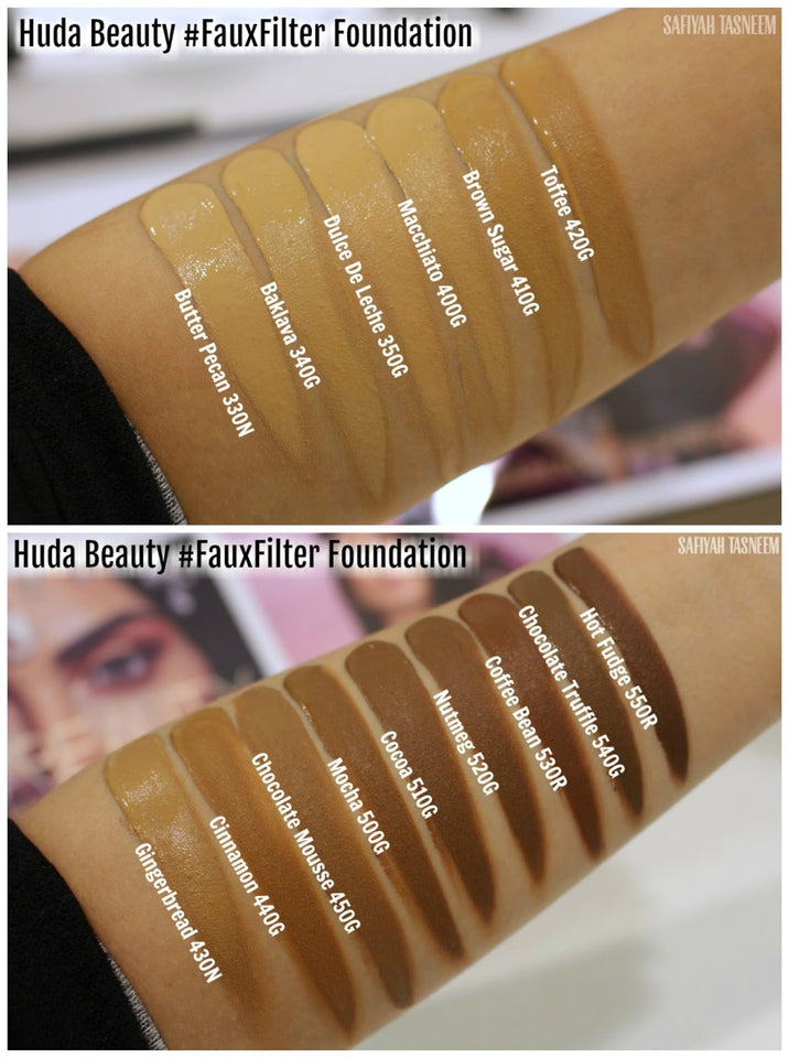 Base Faux Filter Foundation, Huda Beauty