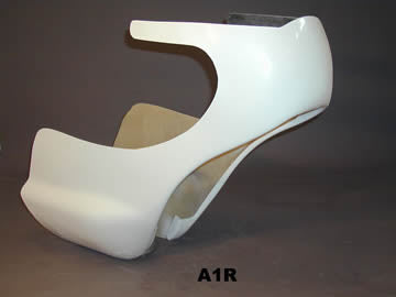 Windshield for Air Tech fairing Kawasaki A1R
