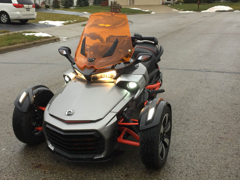 "Can Am Spyder F3 17"" Windshield"