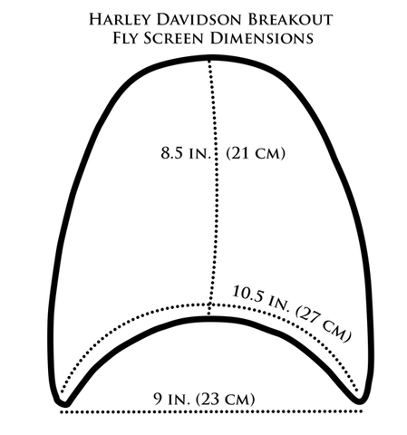 Harley Breakout Dimensions