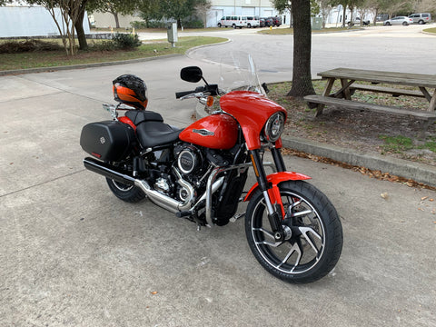 "12"" Clear Windshield on 2020 SportGlide"