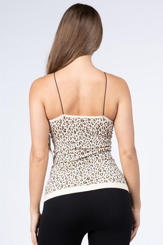 SHOW STOPPER LEOPARD CAMI TANK TOP - Earthy Wares